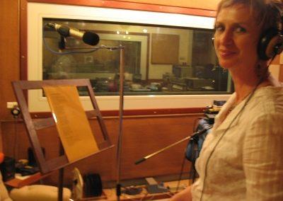 Cathy, La Musique des mots, Studio Valdo Sartori