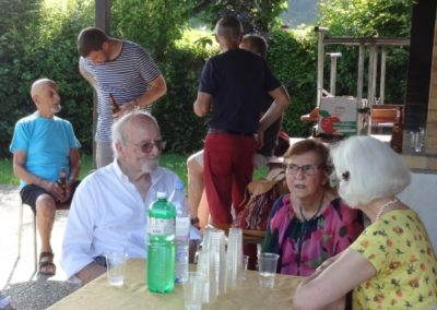 Vernissage Chemins de traverse Chamblon. Catherine Gaillard-Sarron