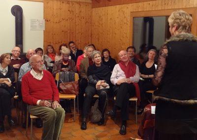 Vernissage La fenêtre aux alouettes et Paquet surprise à Chamblon 29.11.14