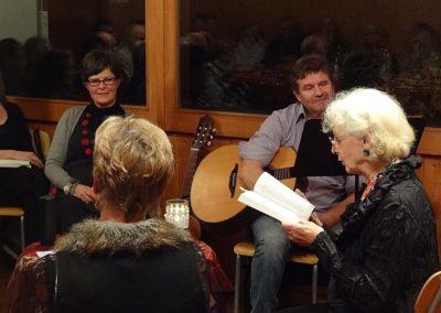 Vernissage La fenêtre aux alouettes et Paquet surprise à Chamblon le 29.11.14
