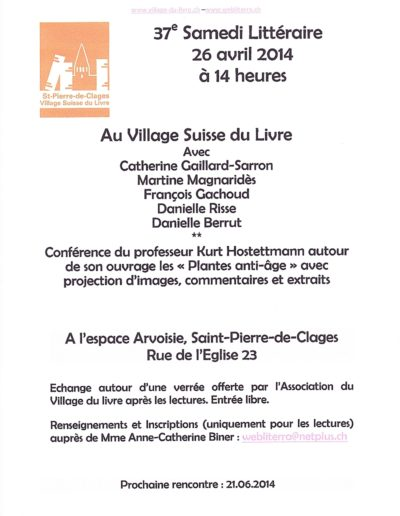 26.4.14 Lecture St Pierre