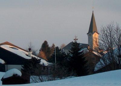 Bullet église